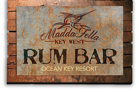 Madda Fella Rum Bar at Ocean Key Resort